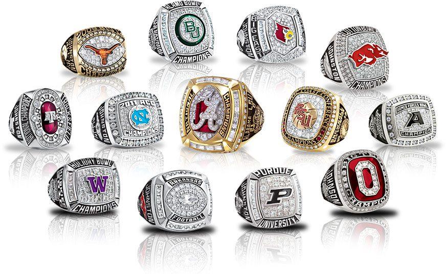 Select a championship ring