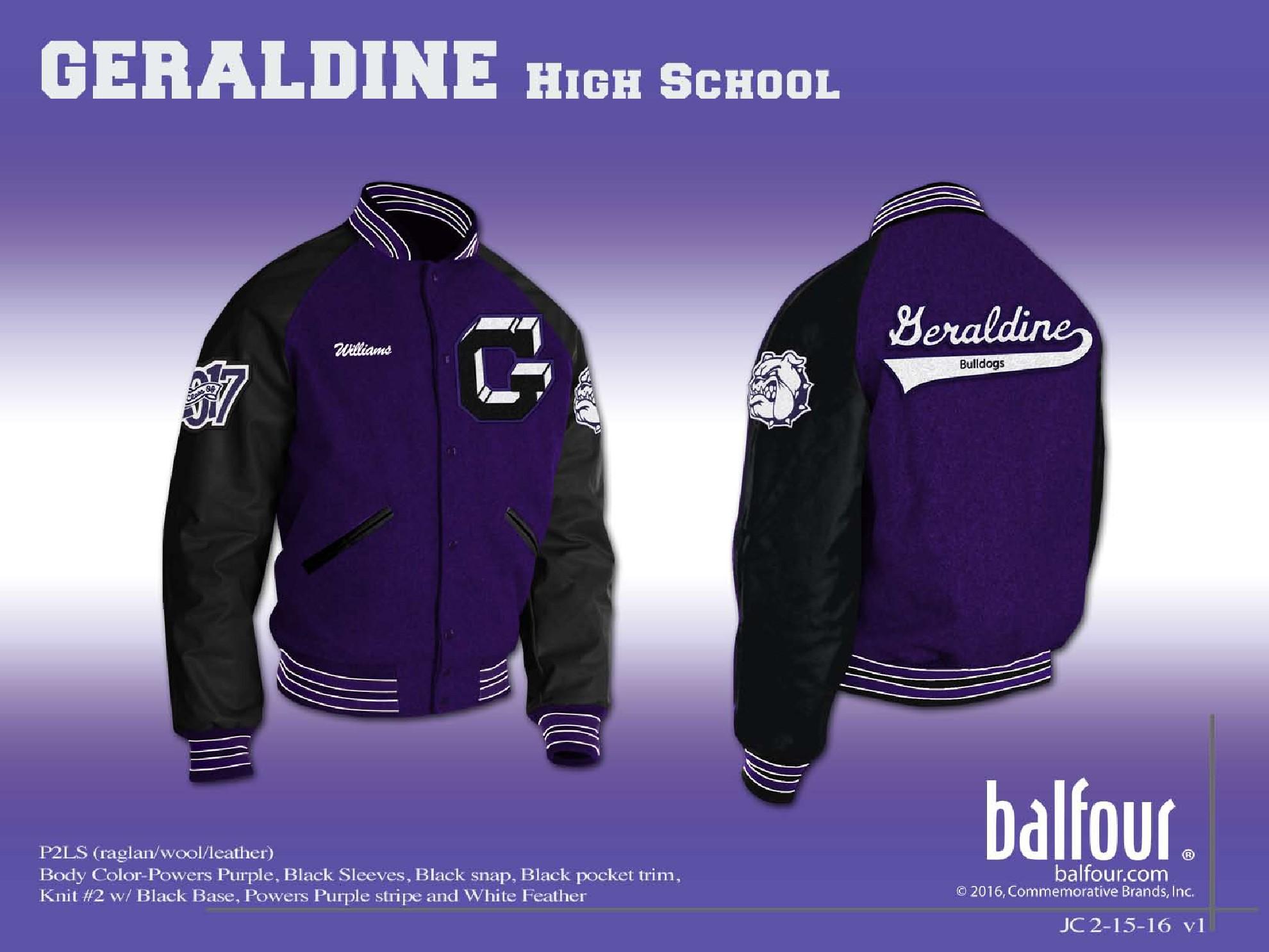 geraldine Letter Jacket