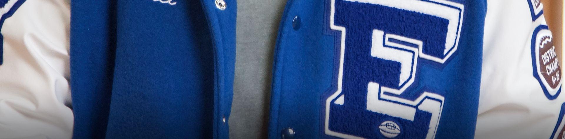 main slider letter jacket