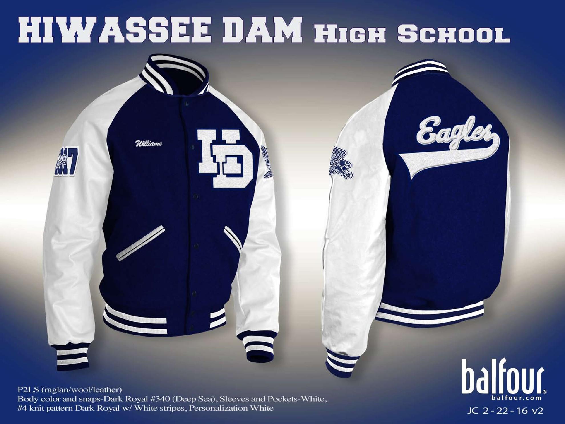 hiwasse dam Letter Jacket