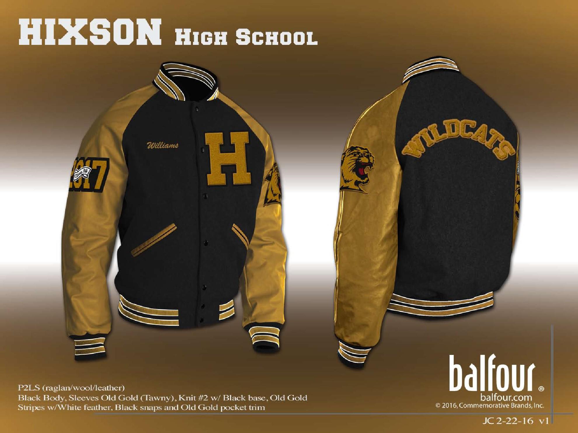 Hixson High Letter Jacket