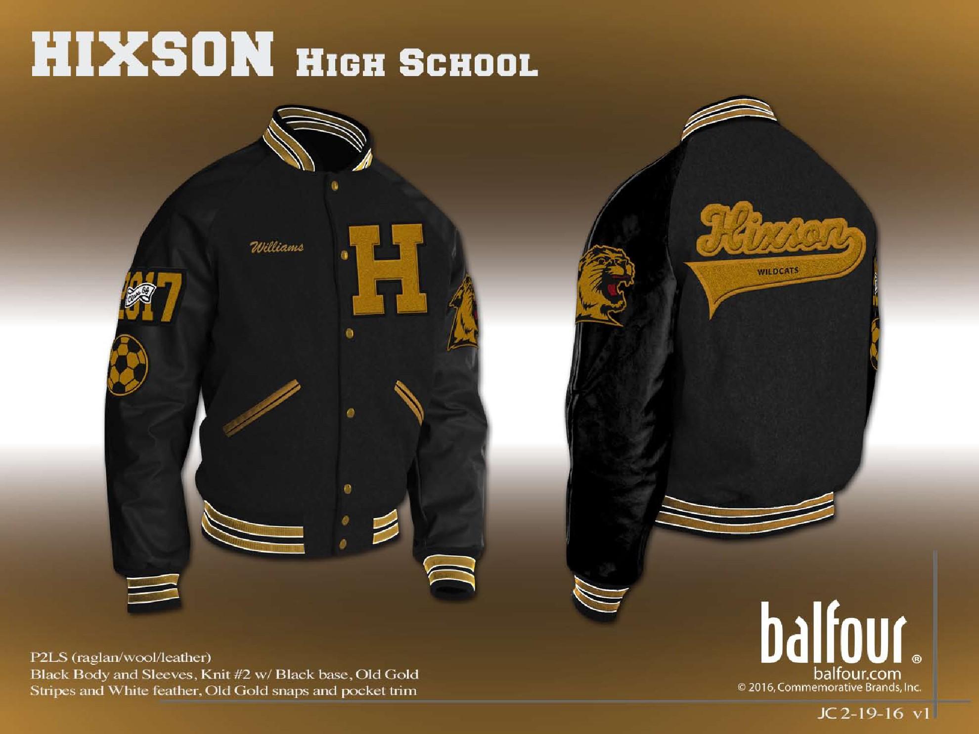 Hixson Letter Jacket