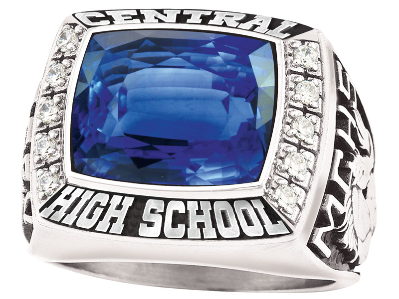 Class Rings with Bling