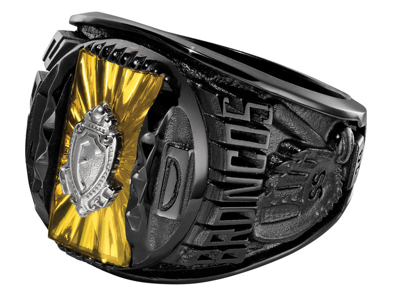 Black Class Rings