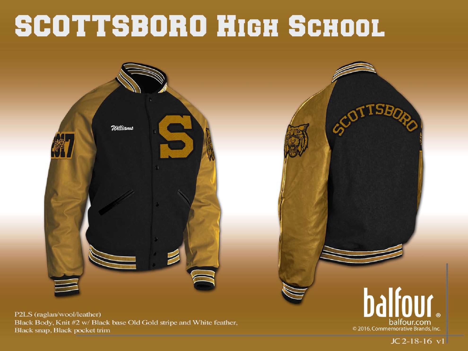 scottsboro Letter Jacket