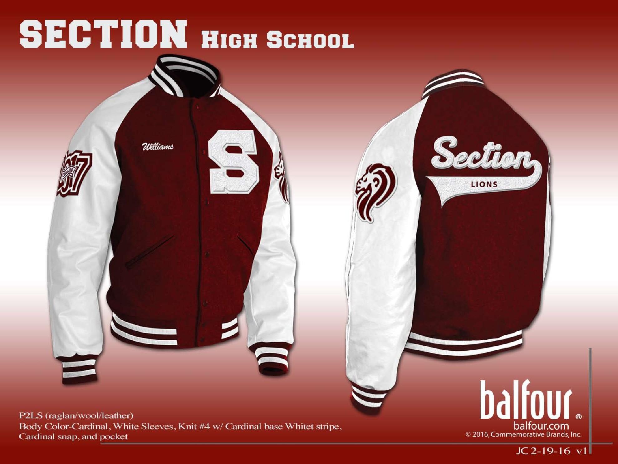 section Letter Jacket