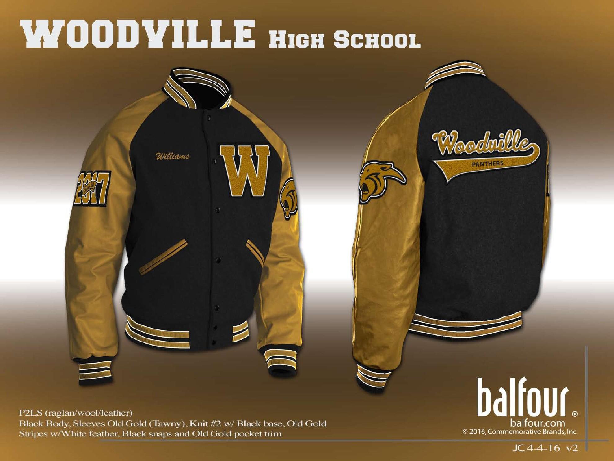 Woodville Letter Jacket